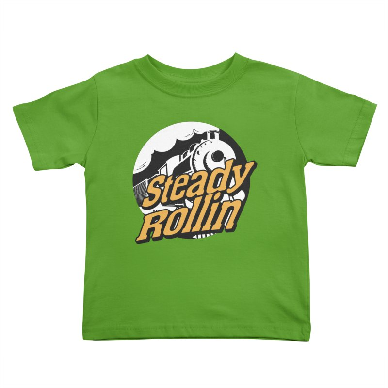 Steady Rollin - F.S.A. Collection (full steam ahead) Kids Toddler T-Shirt by Steady Rollin Merch