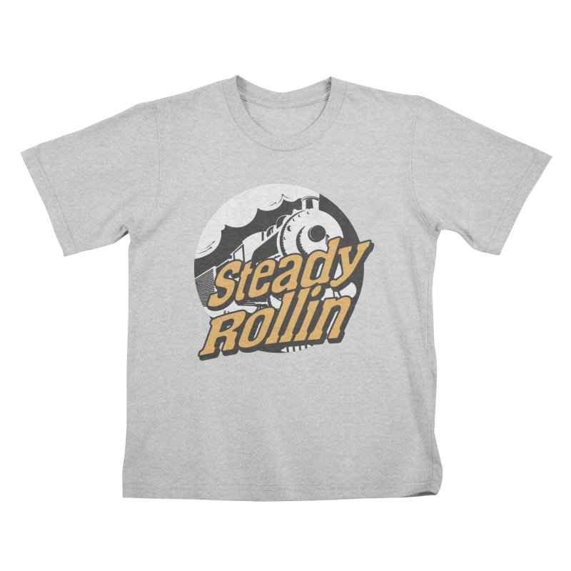 Steady Rollin - F.S.A. Collection (full steam ahead) Kids T-Shirt by Steady Rollin Merch