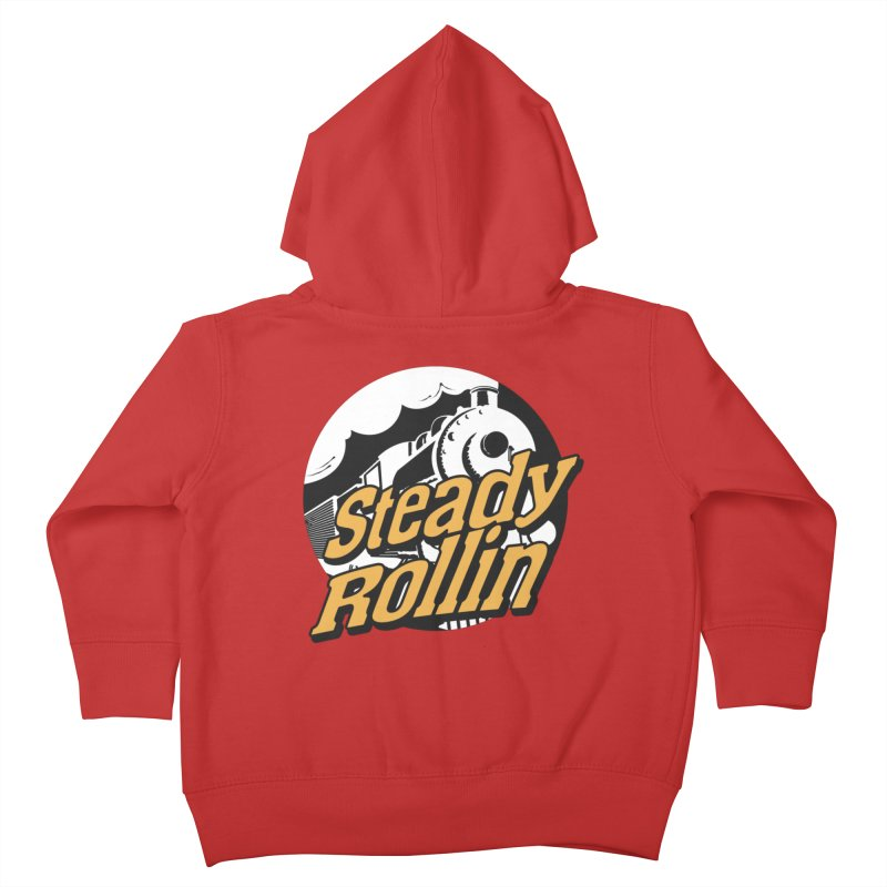 Steady Rollin - F.S.A. Collection (full steam ahead) Kids Toddler Zip-Up Hoody by Steady Rollin Merch