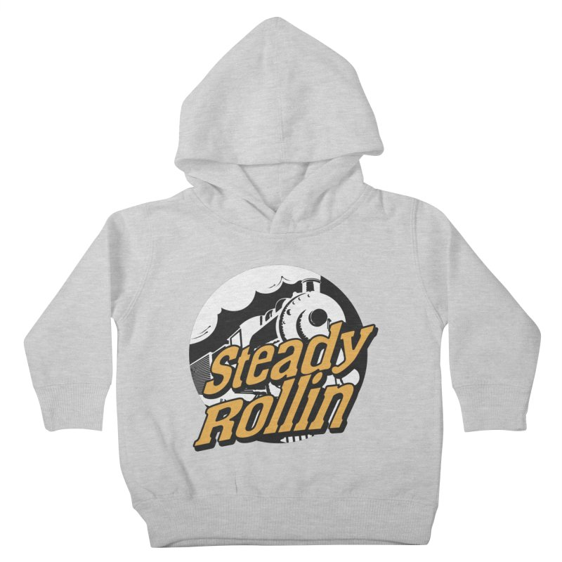 Steady Rollin - F.S.A. Collection (full steam ahead) Kids Toddler Pullover Hoody by Steady Rollin Merch