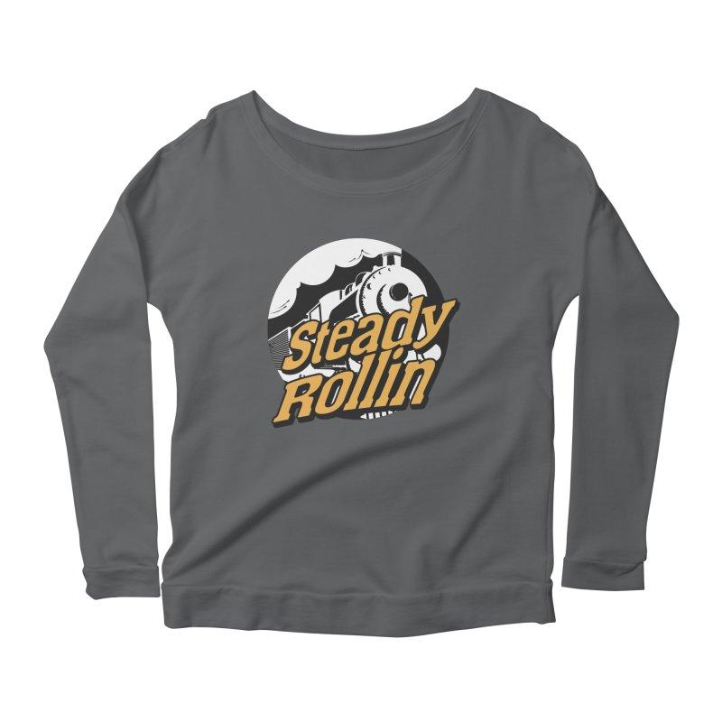 Steady Rollin - F.S.A. Collection (full steam ahead) Women's Longsleeve T-Shirt by Steady Rollin Merch