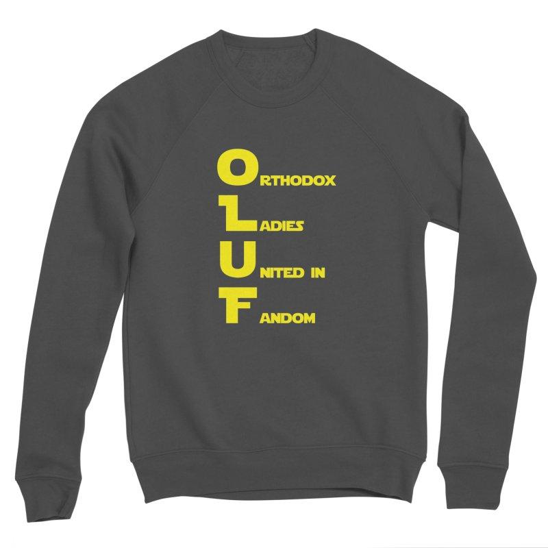 OLUF Star Wars Logo 1 Men's Sponge Fleece Sweatshirt by SteampunkEngineer's Shop
