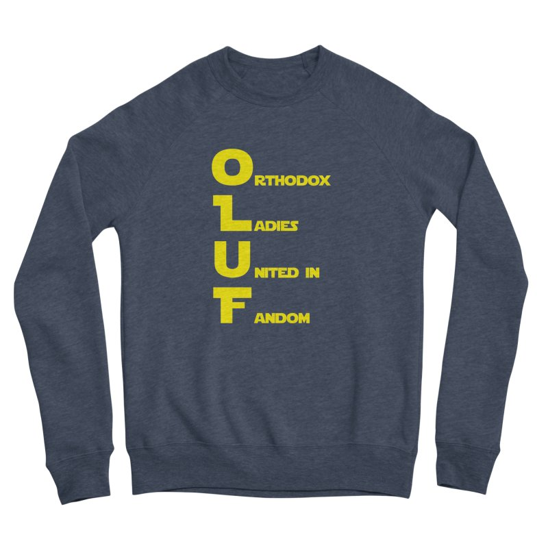 OLUF Star Wars Logo 1 Men's Sponge Fleece Sweatshirt by SteampunkEngineer's Shop