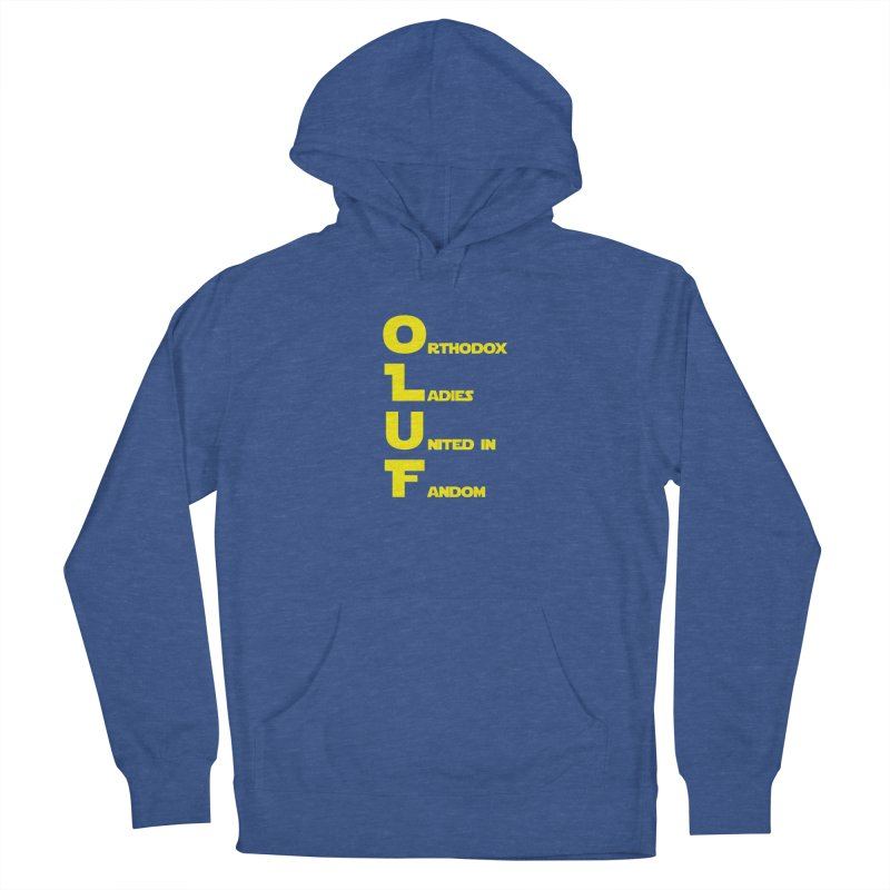 OLUF Star Wars Logo 1 Women's French Terry Pullover Hoody by SteampunkEngineer's Shop