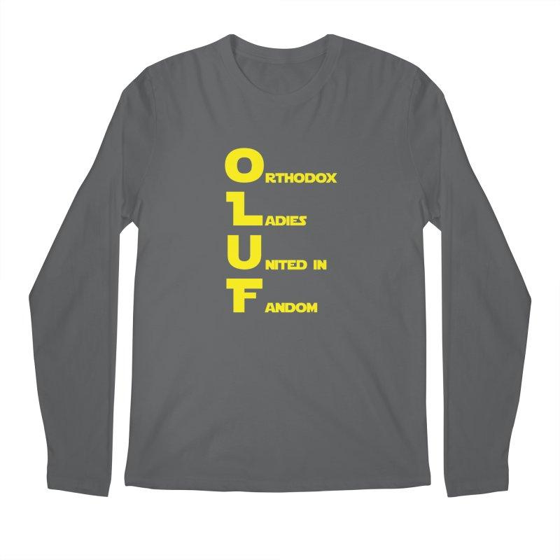 OLUF Star Wars Logo 1 Men's Longsleeve T-Shirt by SteampunkEngineer's Shop