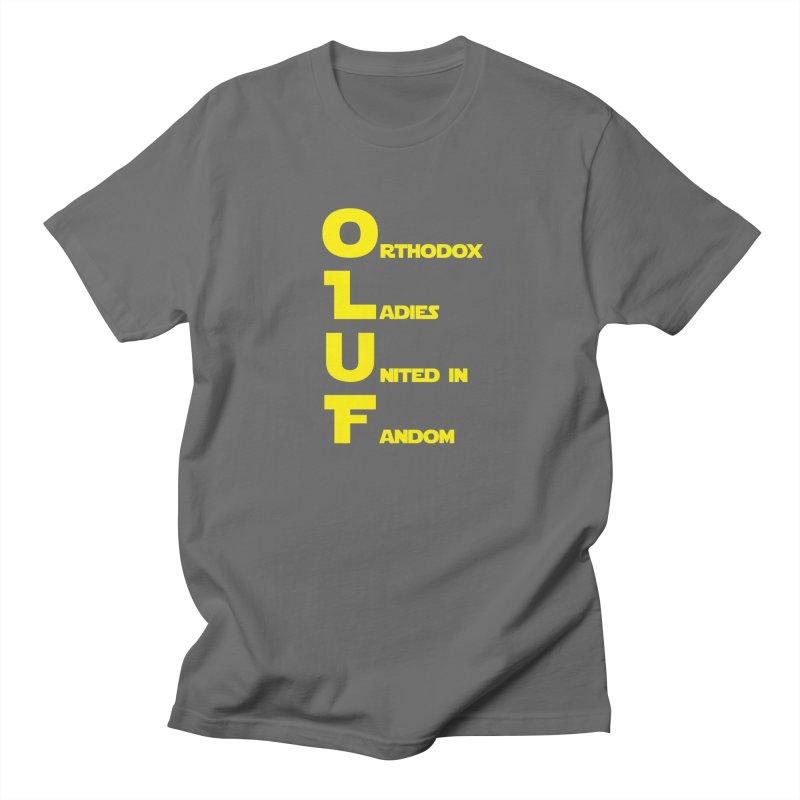 OLUF Star Wars Logo 1 Men's T-Shirt by SteampunkEngineer's Shop