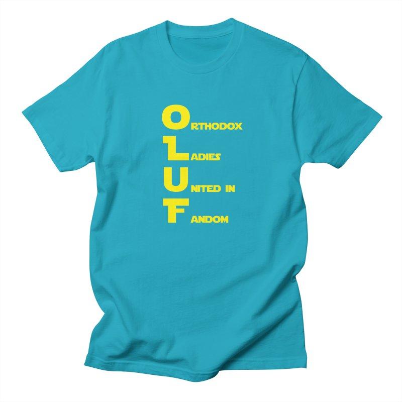 OLUF Star Wars Logo 1 Women's Regular Unisex T-Shirt by SteampunkEngineer's Shop
