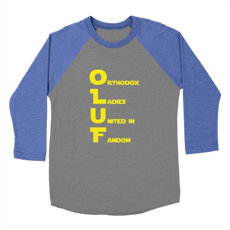 OLUF Star Wars Logo 1 Men's Baseball Triblend Longsleeve T-Shirt by SteampunkEngineer's Shop