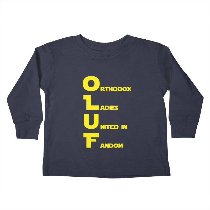 OLUF Star Wars Logo 1 Kids Toddler Longsleeve T-Shirt by SteampunkEngineer's Shop