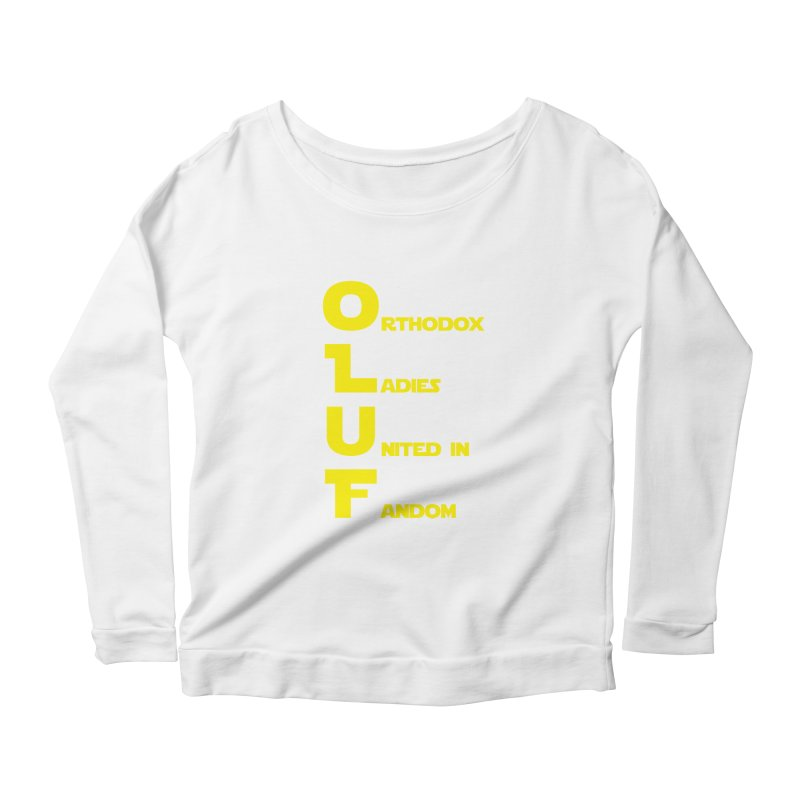 OLUF Star Wars Logo 1 Women's Scoop Neck Longsleeve T-Shirt by SteampunkEngineer's Shop