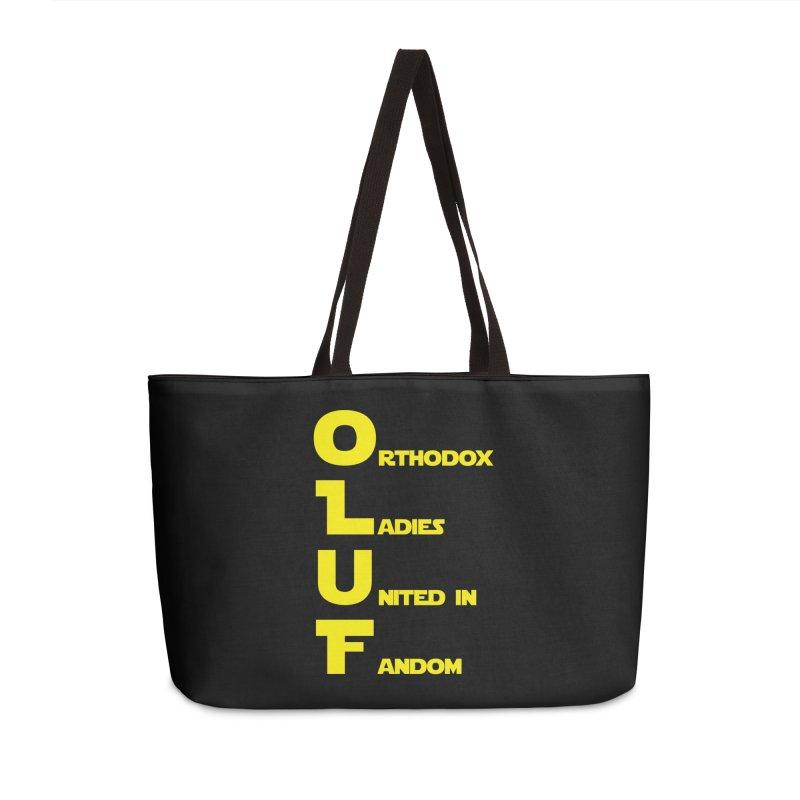 OLUF Star Wars Logo 1 Accessories Weekender Bag Bag by SteampunkEngineer's Shop