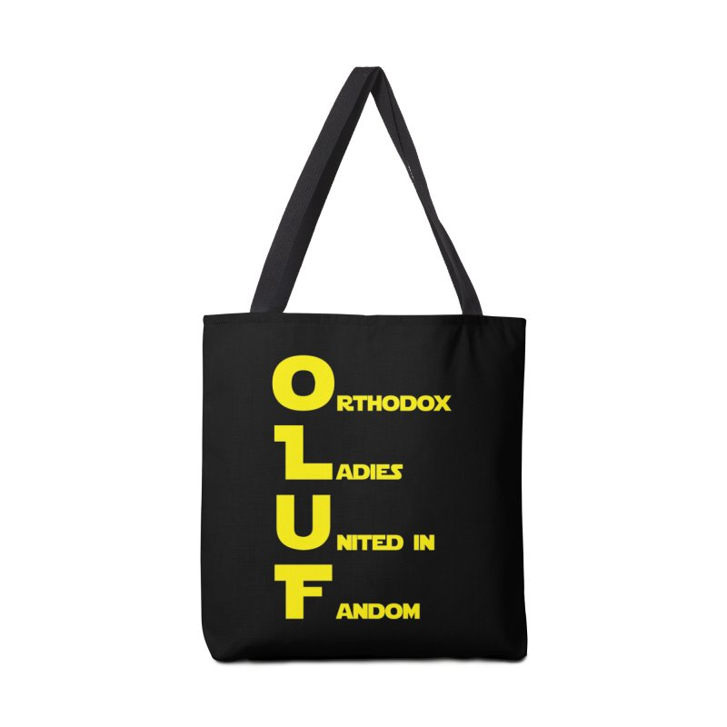 OLUF Star Wars Logo 1 Accessories Tote Bag Bag by SteampunkEngineer's Shop