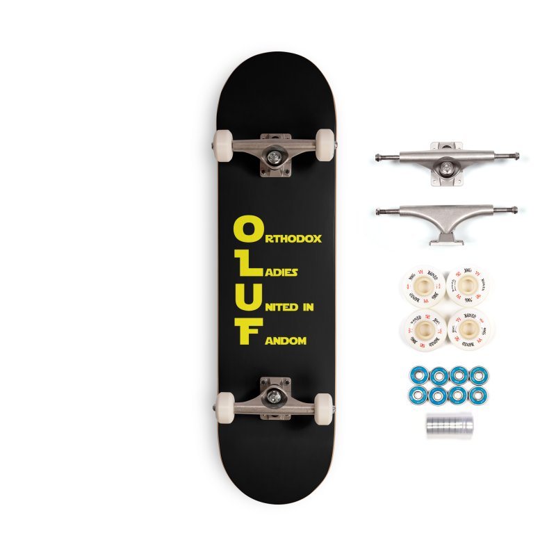 OLUF Star Wars Logo 1 Accessories Complete - Premium Skateboard by SteampunkEngineer's Shop