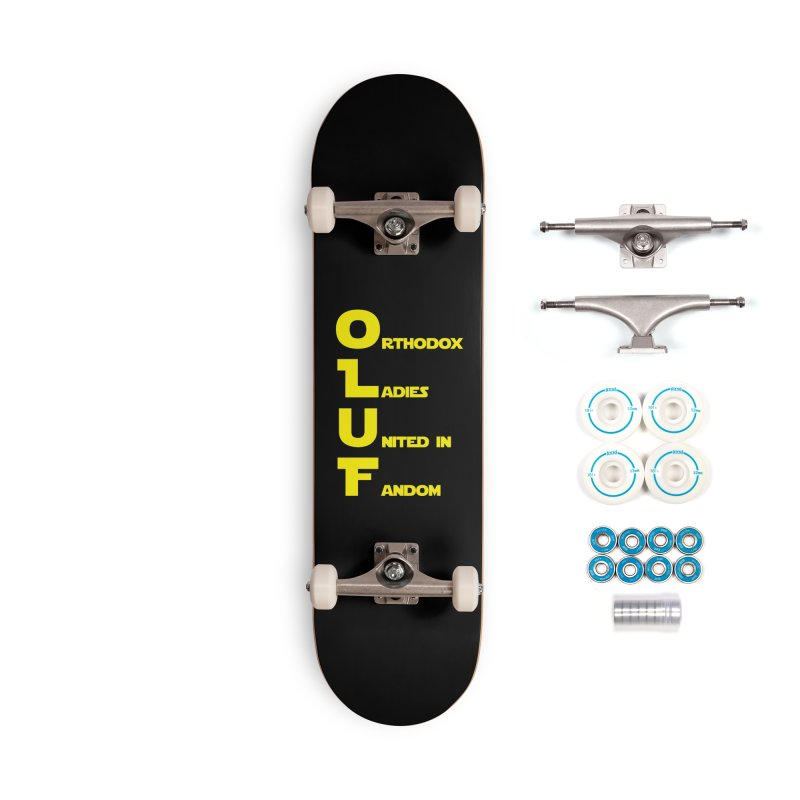 OLUF Star Wars Logo 1 Accessories Complete - Basic Skateboard by SteampunkEngineer's Shop