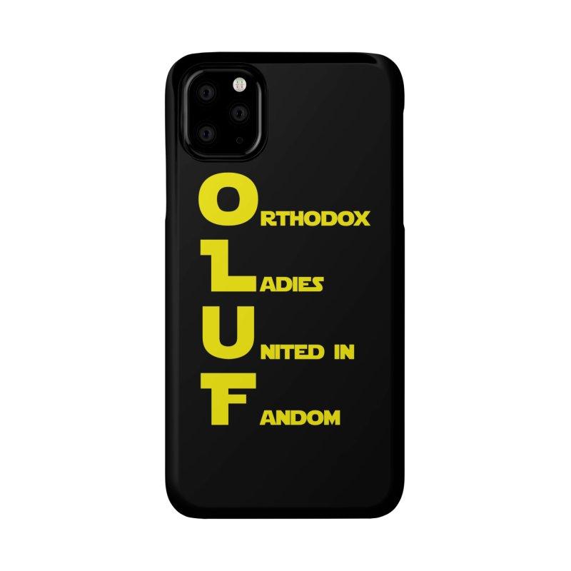 OLUF Star Wars Logo 1 Accessories Phone Case by SteampunkEngineer's Shop