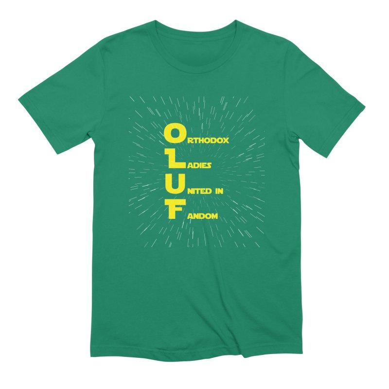 OLUF Star Wars Logo 2 Men's Extra Soft T-Shirt by SteampunkEngineer's Shop