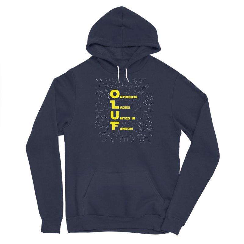 OLUF Star Wars Logo 2 Men's Sponge Fleece Pullover Hoody by SteampunkEngineer's Shop