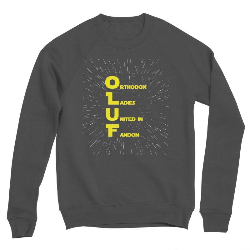 OLUF Star Wars Logo 2 Men's Sponge Fleece Sweatshirt by SteampunkEngineer's Shop