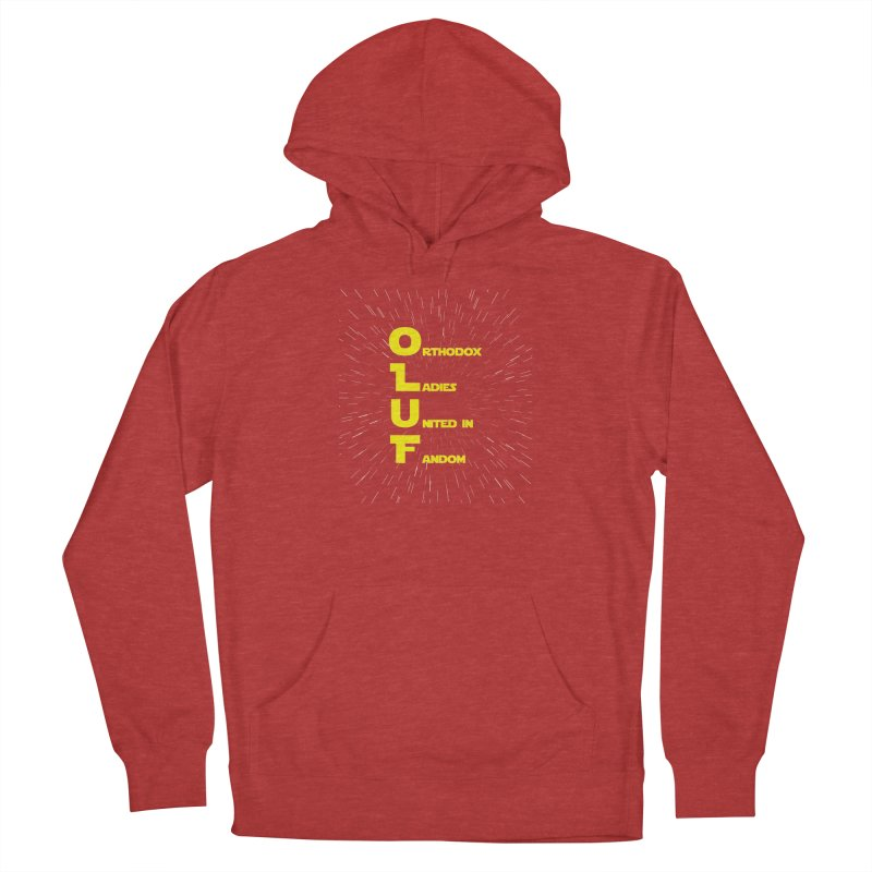 OLUF Star Wars Logo 2 Women's French Terry Pullover Hoody by SteampunkEngineer's Shop