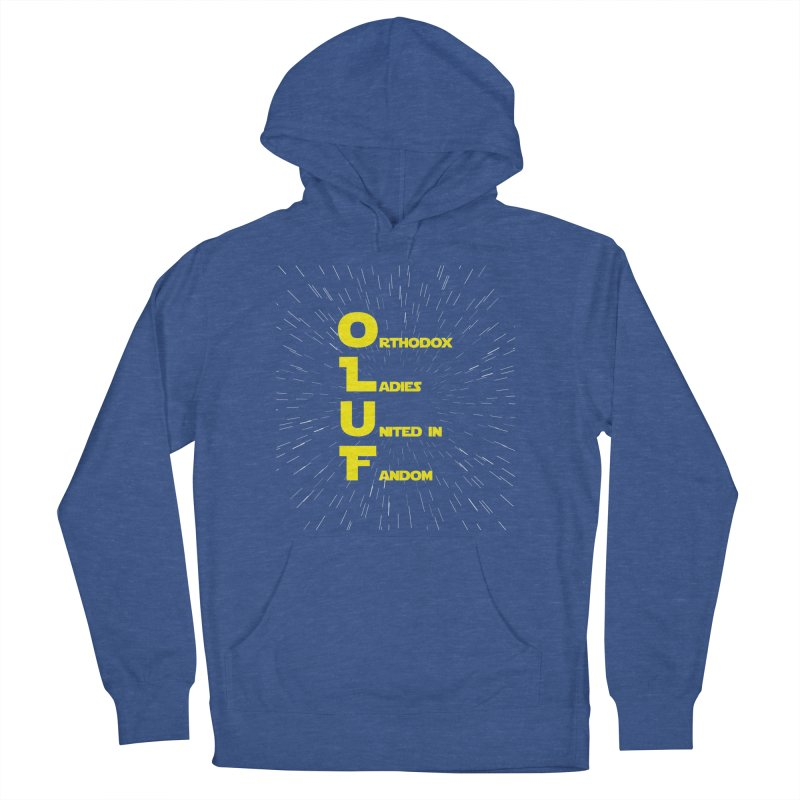 OLUF Star Wars Logo 2 Men's French Terry Pullover Hoody by SteampunkEngineer's Shop