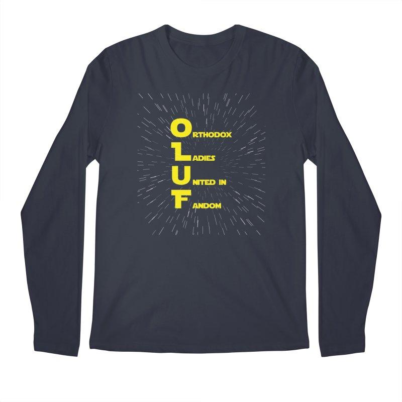 OLUF Star Wars Logo 2 Men's Regular Longsleeve T-Shirt by SteampunkEngineer's Shop