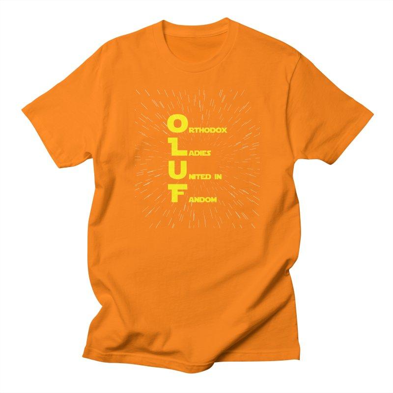 OLUF Star Wars Logo 2 Men's Regular T-Shirt by SteampunkEngineer's Shop