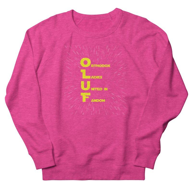 OLUF Star Wars Logo 2 Women's French Terry Sweatshirt by SteampunkEngineer's Shop