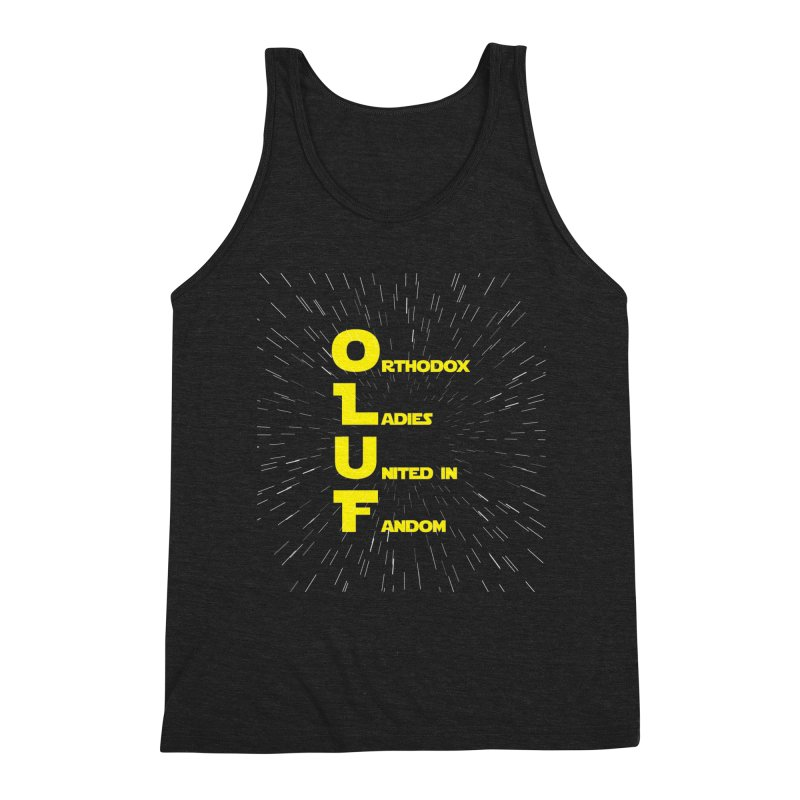 OLUF Star Wars Logo 2 Men's Triblend Tank by SteampunkEngineer's Shop