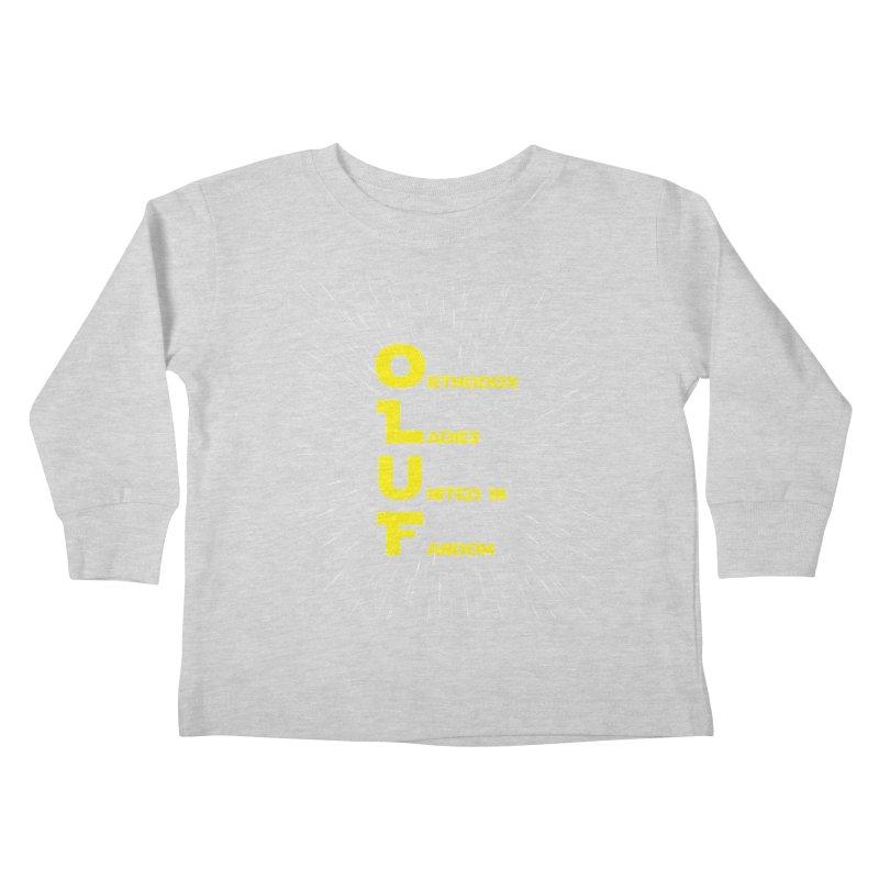 OLUF Star Wars Logo 2 Kids Toddler Longsleeve T-Shirt by SteampunkEngineer's Shop