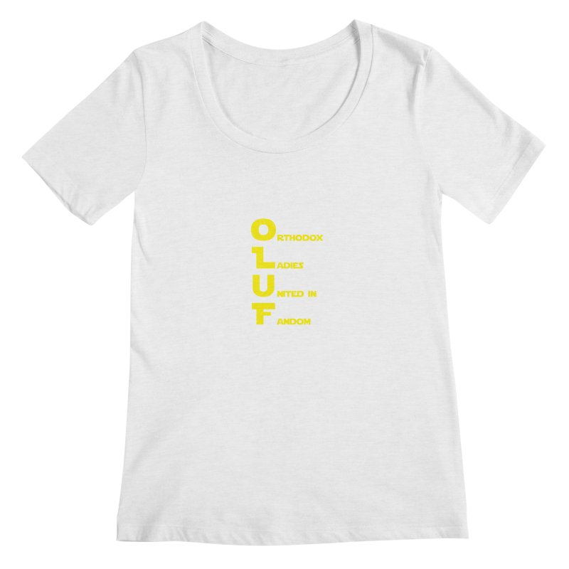 OLUF Star Wars Logo 2 Women's Regular Scoop Neck by SteampunkEngineer's Shop