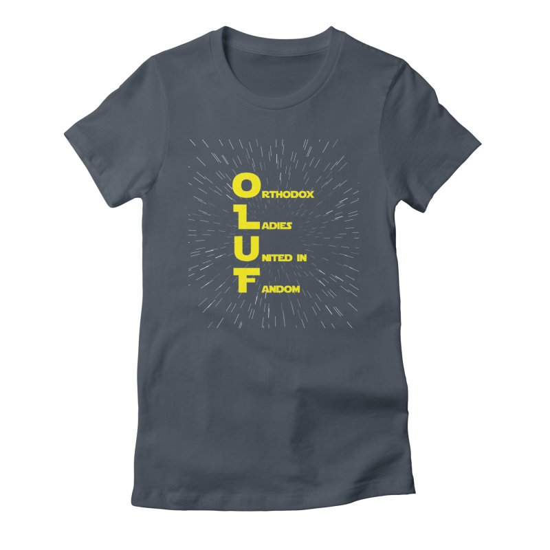 OLUF Star Wars Logo 2 Women's T-Shirt by SteampunkEngineer's Shop