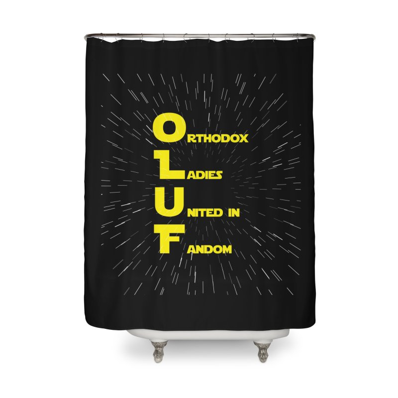 OLUF Star Wars Logo 2 Home Shower Curtain by SteampunkEngineer's Shop