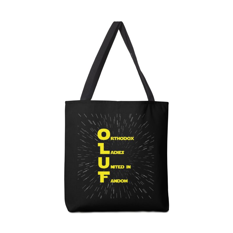 OLUF Star Wars Logo 2 Accessories Tote Bag Bag by SteampunkEngineer's Shop