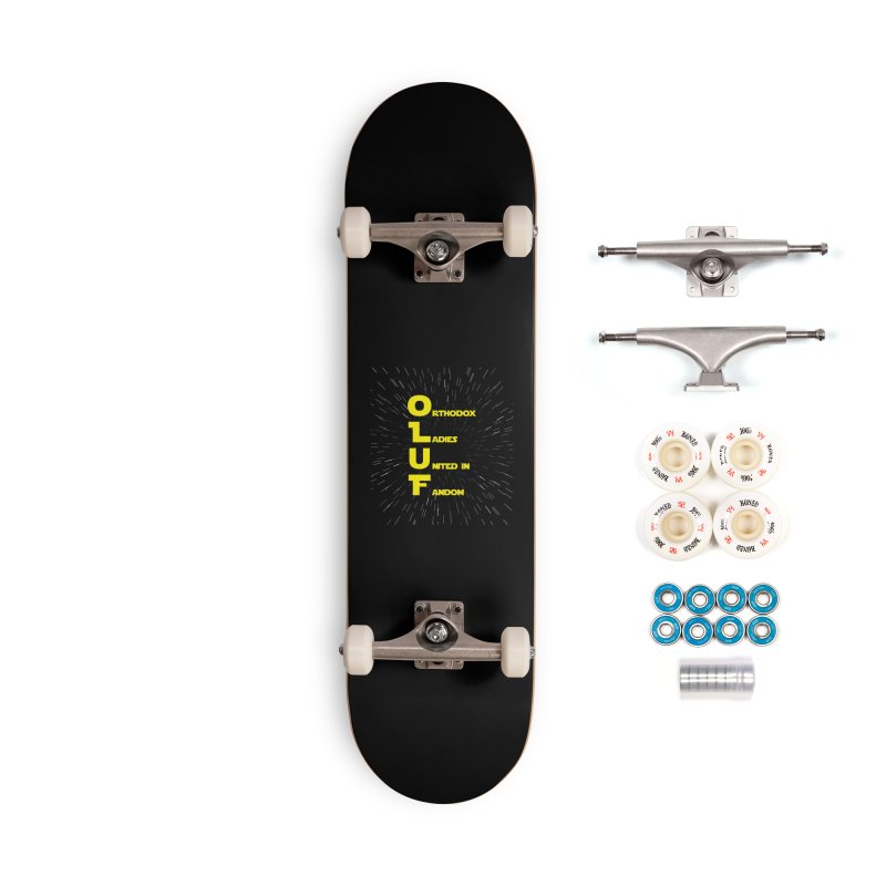 OLUF Star Wars Logo 2 Accessories Complete - Premium Skateboard by SteampunkEngineer's Shop