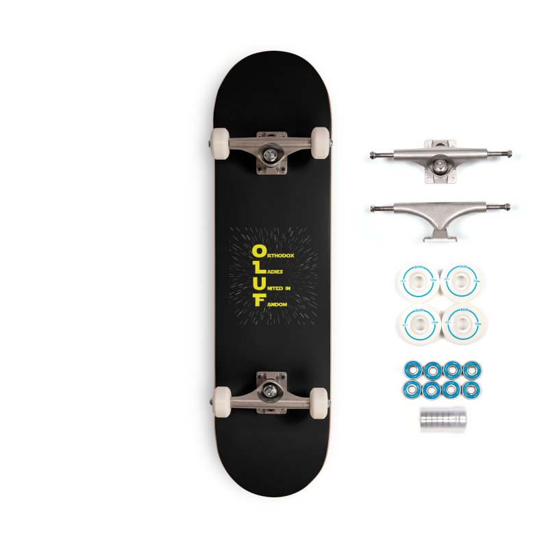 OLUF Star Wars Logo 2 Accessories Complete - Basic Skateboard by SteampunkEngineer's Shop