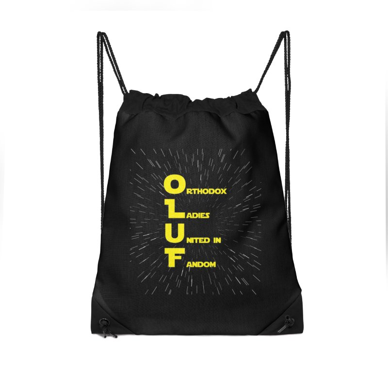 OLUF Star Wars Logo 2 Accessories Drawstring Bag Bag by SteampunkEngineer's Shop
