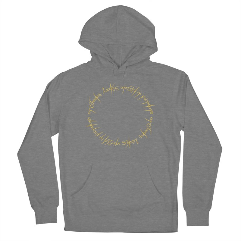 OLUF Lord of the Rings Logo 1 Women's Pullover Hoody by SteampunkEngineer's Shop