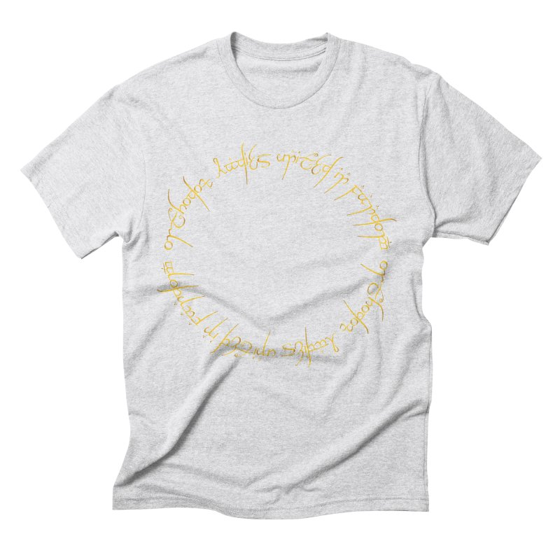 OLUF Lord of the Rings Logo 1 Men's Triblend T-Shirt by SteampunkEngineer's Shop