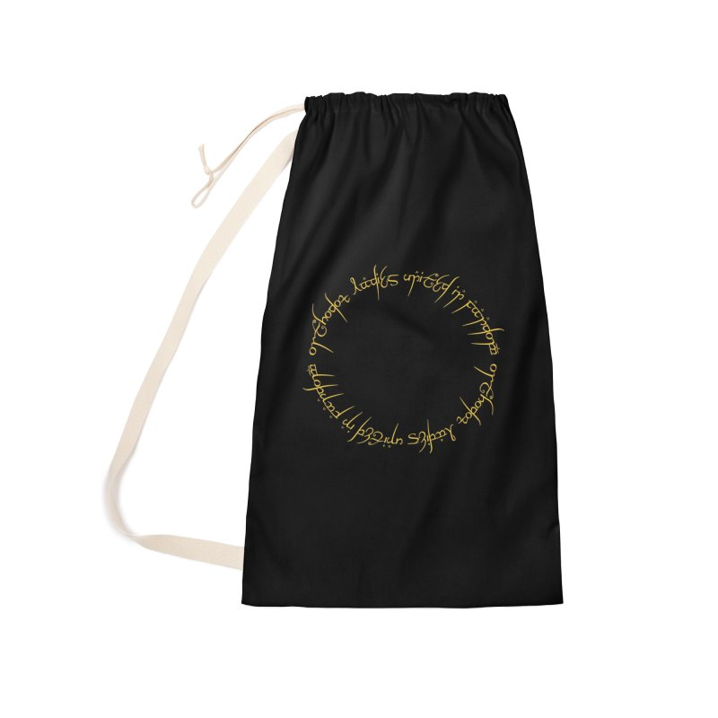 OLUF Lord of the Rings Logo 1 Accessories Laundry Bag Bag by SteampunkEngineer's Shop