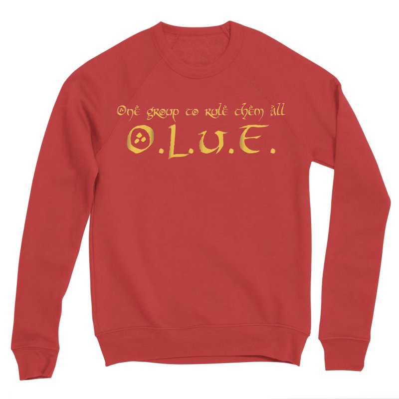 OLUF Lord of the Rings Logo 2 Men's Sponge Fleece Sweatshirt by SteampunkEngineer's Shop