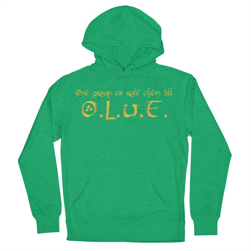 OLUF Lord of the Rings Logo 2 Women's French Terry Pullover Hoody by SteampunkEngineer's Shop