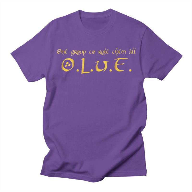 OLUF Lord of the Rings Logo 2 Women's Regular Unisex T-Shirt by SteampunkEngineer's Shop