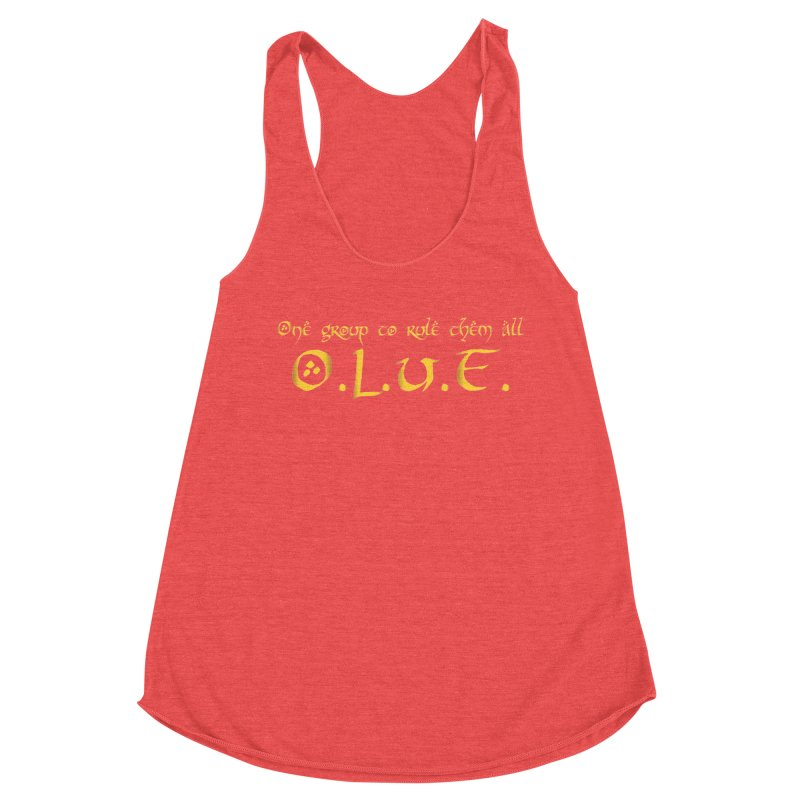 OLUF Lord of the Rings Logo 2 Women's Tank by SteampunkEngineer's Shop