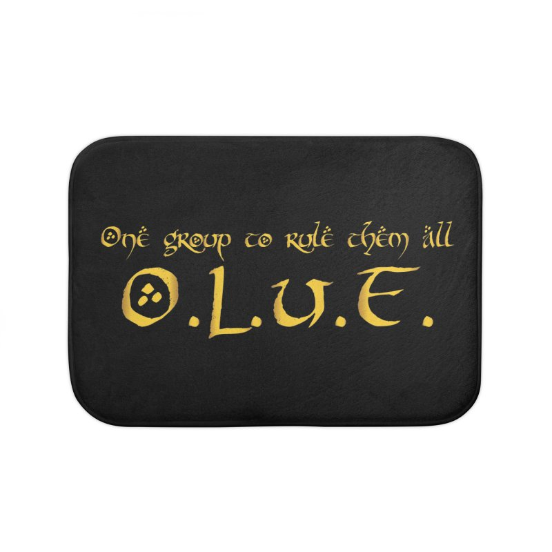 OLUF Lord of the Rings Logo 2 Home Bath Mat by SteampunkEngineer's Shop
