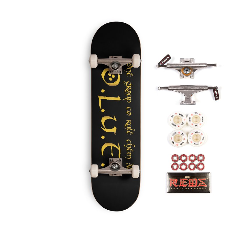OLUF Lord of the Rings Logo 2 Accessories Complete - Pro Skateboard by SteampunkEngineer's Shop
