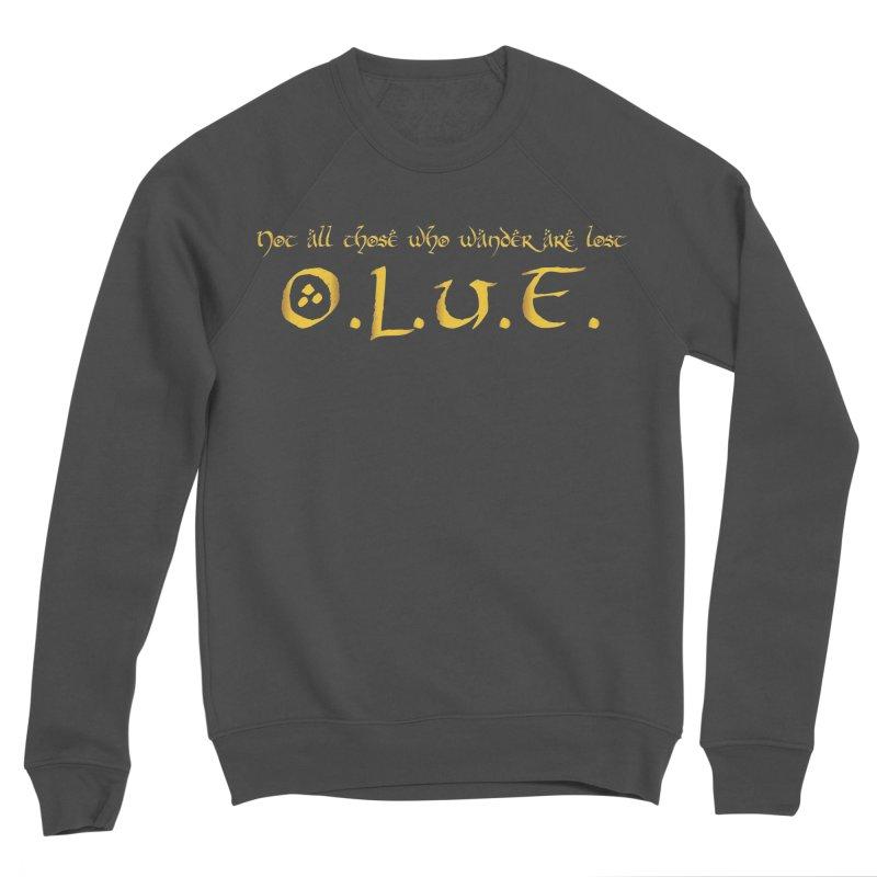 OLUF Lord of the Rings Logo 3 Men's Sponge Fleece Sweatshirt by SteampunkEngineer's Shop