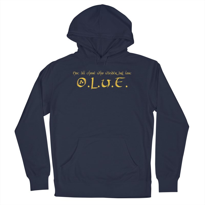 OLUF Lord of the Rings Logo 3 Men's Pullover Hoody by SteampunkEngineer's Shop