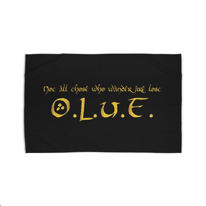 OLUF Lord of the Rings Logo 3 Home Rug by SteampunkEngineer's Shop