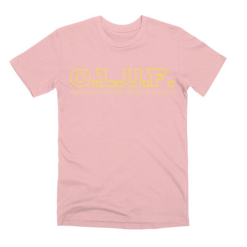 OLUF Star Wars Logo 3 Men's Premium T-Shirt by SteampunkEngineer's Shop