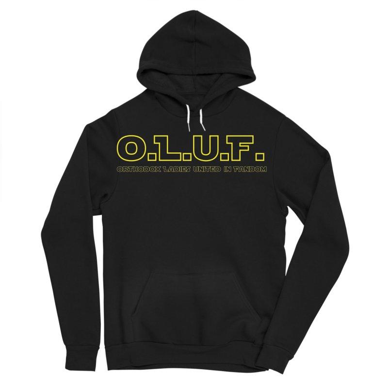OLUF Star Wars Logo 3 Men's Sponge Fleece Pullover Hoody by SteampunkEngineer's Shop